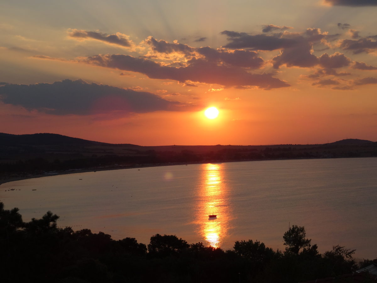 Santa Marina Sozopol sunset