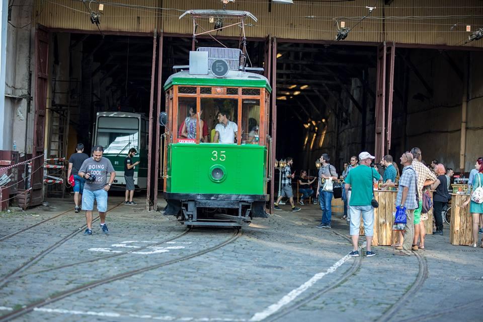 retro tram Sofia