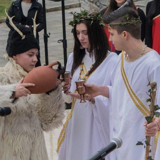 Dionysian feasts Mezdra