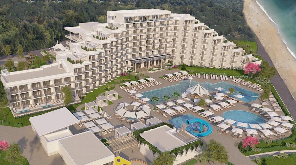 Albena hotel Paradise Blue