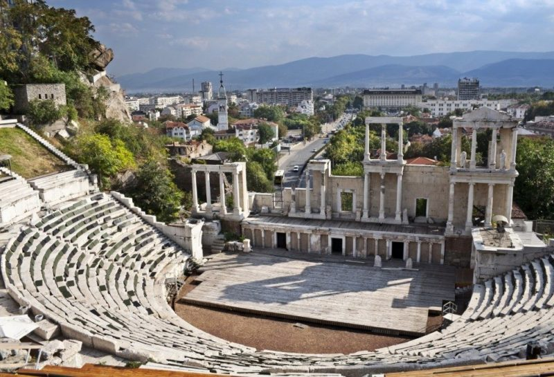 Amphitheater Plovdiv older