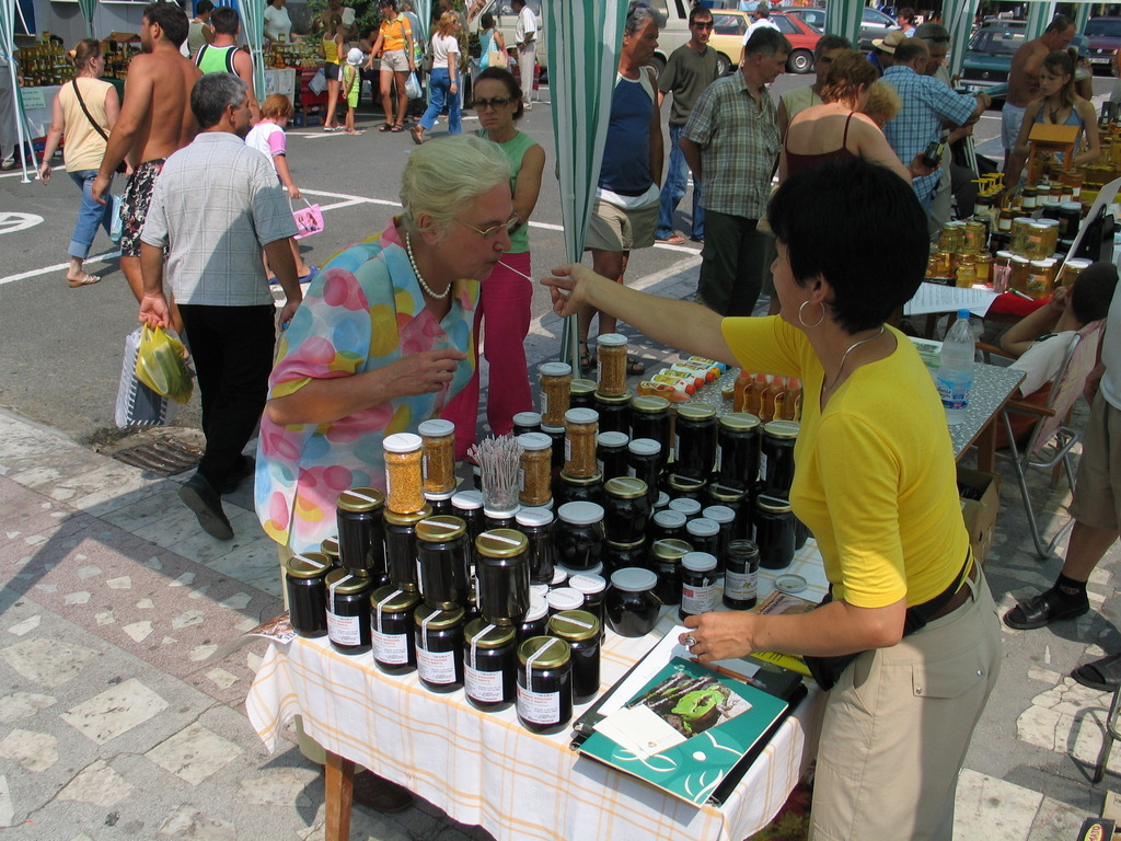 Oak Forest honey festival Strandja