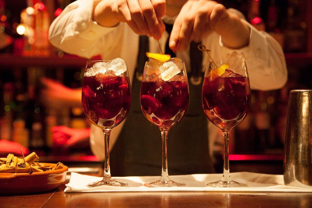 wine cocktails exhibition Burgas