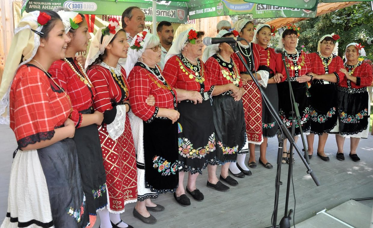 National Thracian Folklore Festival village Dobrich