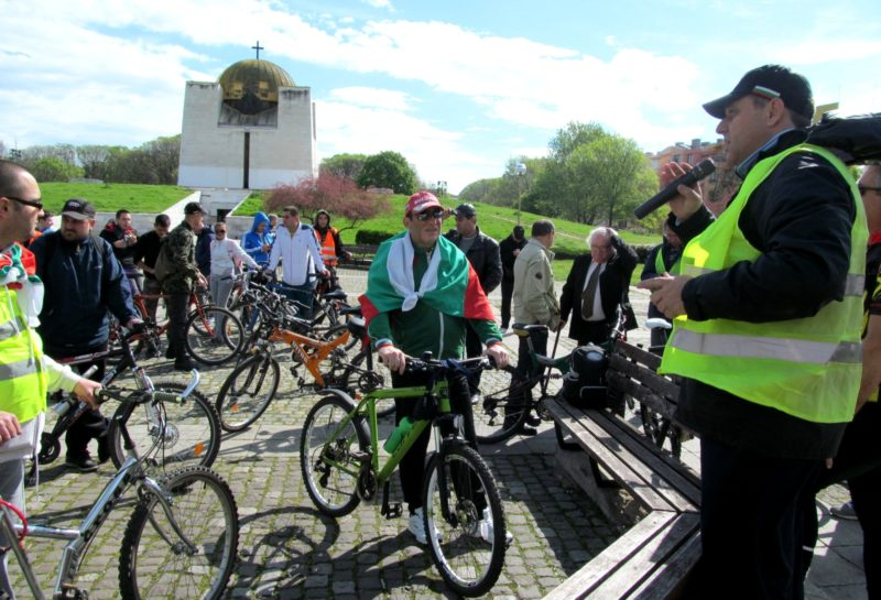Rousse bike march