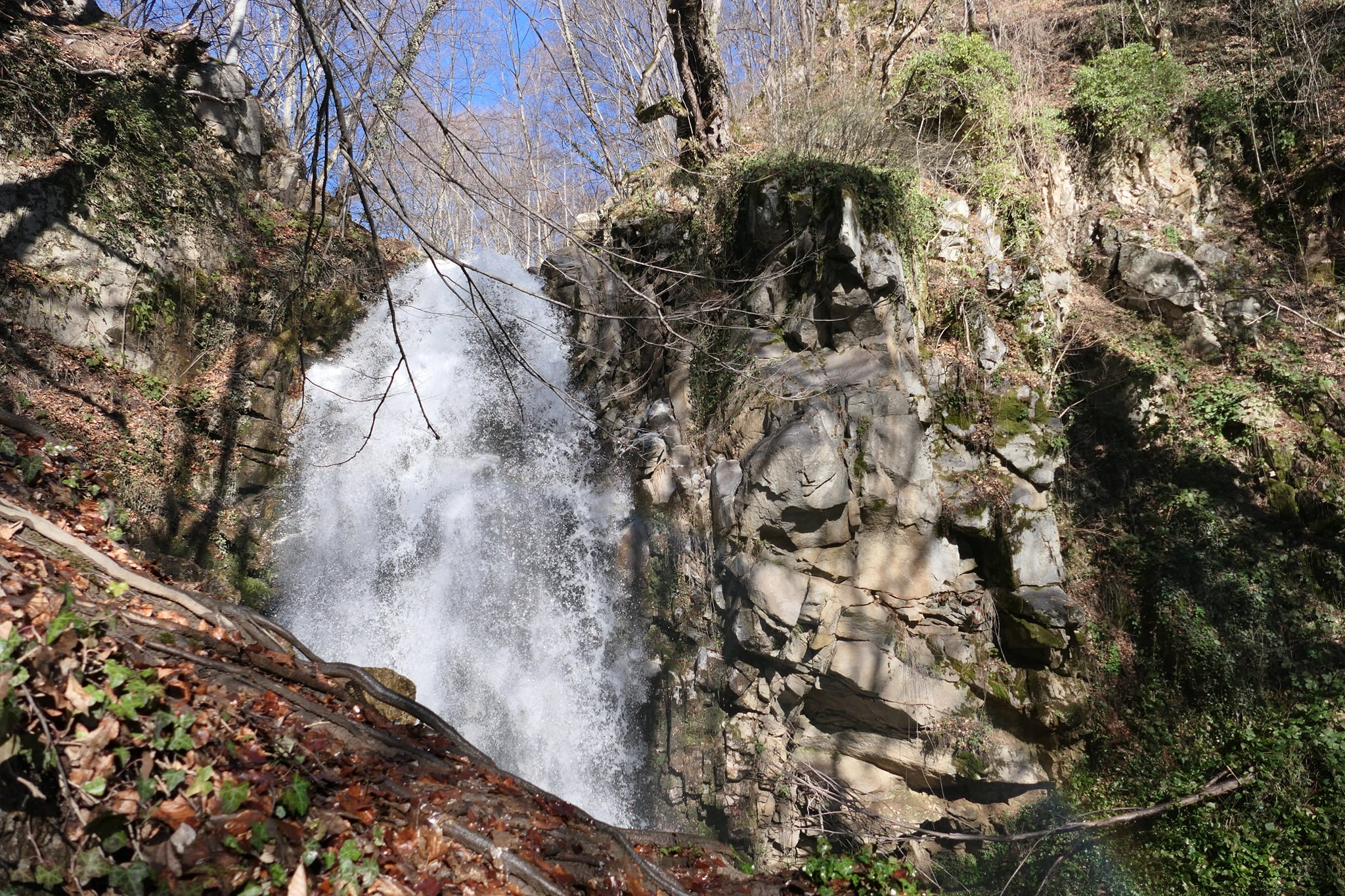 Kashinski waterfall
