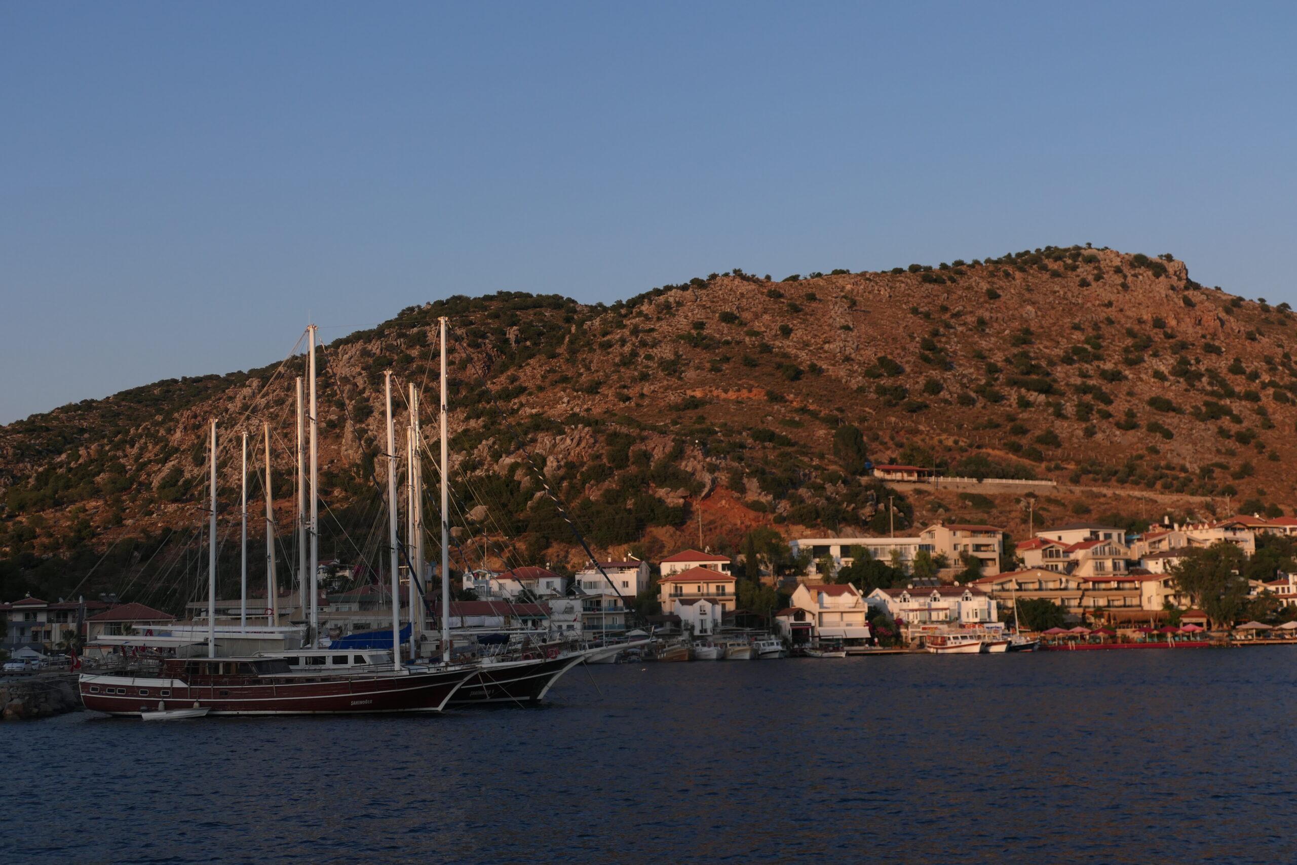 yacht trip turkey